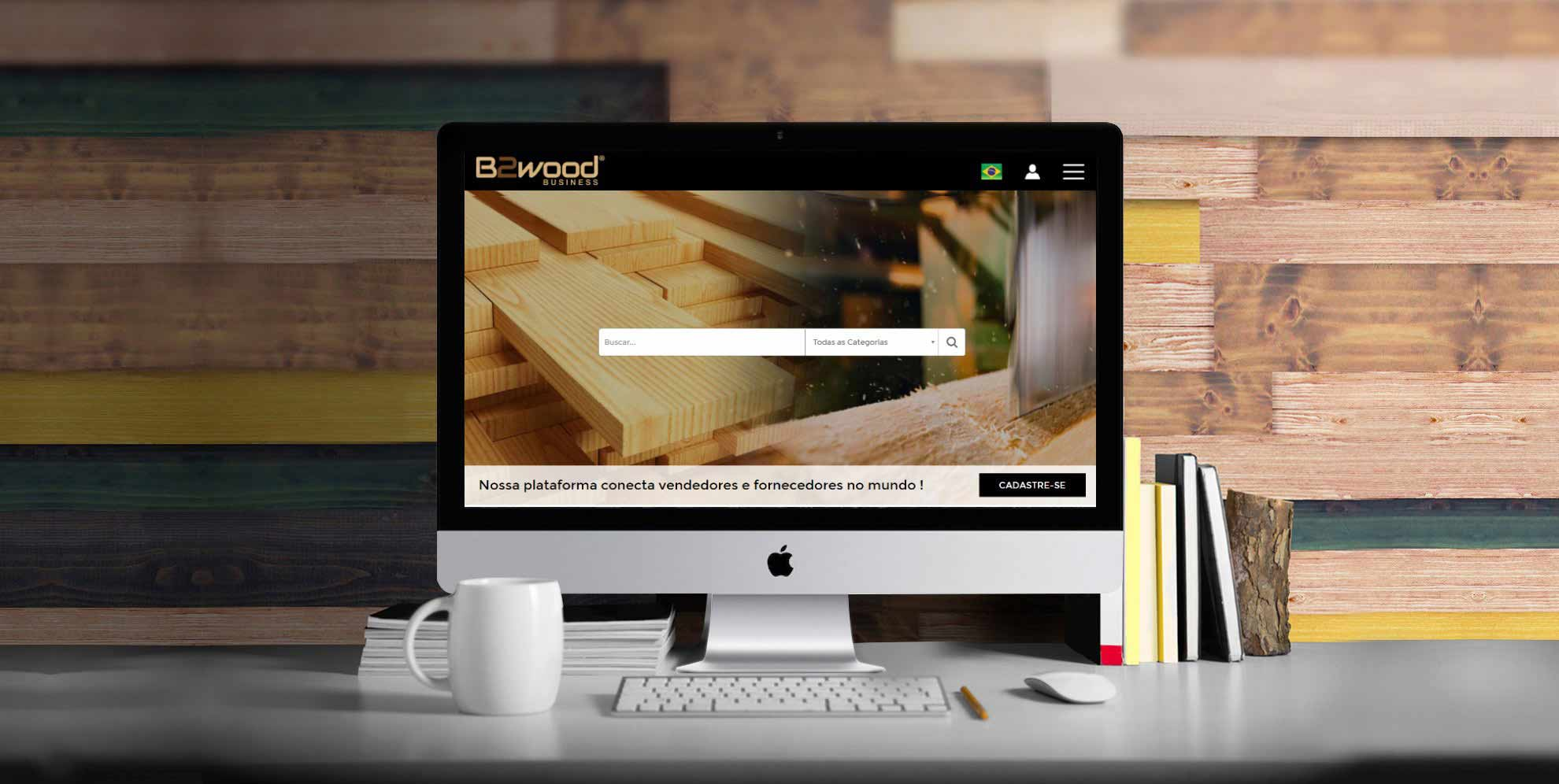 Banner B2Wood Business
